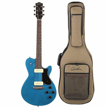 Guitarra Godin Core Hb P90 Denim Flame 035595 Com Bag