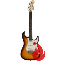 Guitarra Fender Squier Standard Stratocaster Fmt Amber Loja