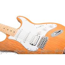 Guitarra Gbspro Stratocaster Natural Blindagem+frete Gratis