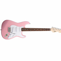 Guitarra Squier Bullet 3 Single Rosa, 03014