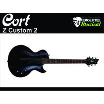 Guitarra Cort Z Custom 2 - Captação Emg 81 E 85