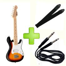 Guitarra Infantil Phx Sunburst + Cabo + Correia