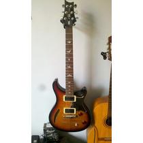 Guitarra Prs Custom Se Semi Hollow, Semi Acustica. Tobacco