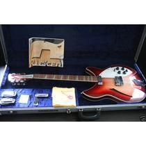 Rickenbacker 360/12v64 George Harrison! Tags + Case