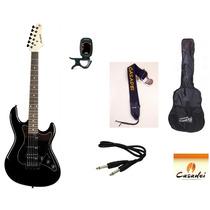 Kit Guitarra Strinberg Strato Egs267 + Afinador + Acessórios