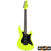 Guitarra Strato Strinberg Humbucker Amarela Esc Preto Egs267