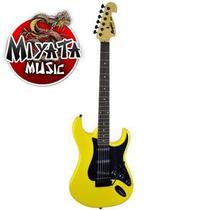 Guitarra Tagima Memphis Mg32 Amarelo Neon + Cabo + Alavanca