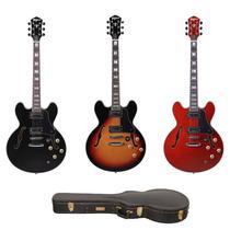 Guitarra Tagima Blues 3000 Semi Acústica C/ Hard Case Luxo
