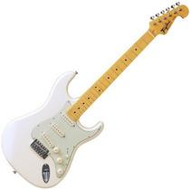 Guitarra Tagima Strato Woodstock Branco Vintage Tg 530