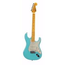 Guitarra Tagima Strato Tg 530 Woodstock Series Surf Green