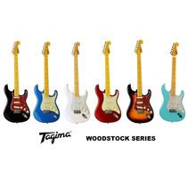 Guitarra Tagima Tg 530 Strato Woodstock Promoção Oferta Loja
