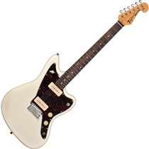 Guitarra Tagima Jazzmaster Woodstock Tw61 P90 Branco Vintage