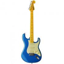 Guitarra Tagima Woodstock Tg-530 Lb Azul Strato - Refinado