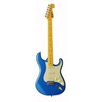 Guitarra Tagima Strato Tg 530 Woodstock Series Azul