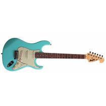 ** Guitarra Stratocaster Memphis By Tagima Mg32 Verde Vint.