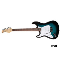 Frete Grátis Waldman St-111lh Street Guitarra Canhota Bsb