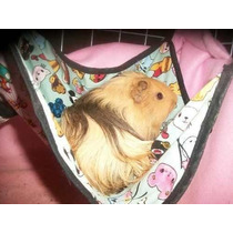 Cama Rede Para Chinchila Porquinho Da India Hamster Roedores