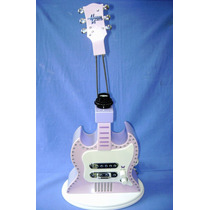 Hannah Montana - Abajur + Reprodutor Som / Musica Guitarra