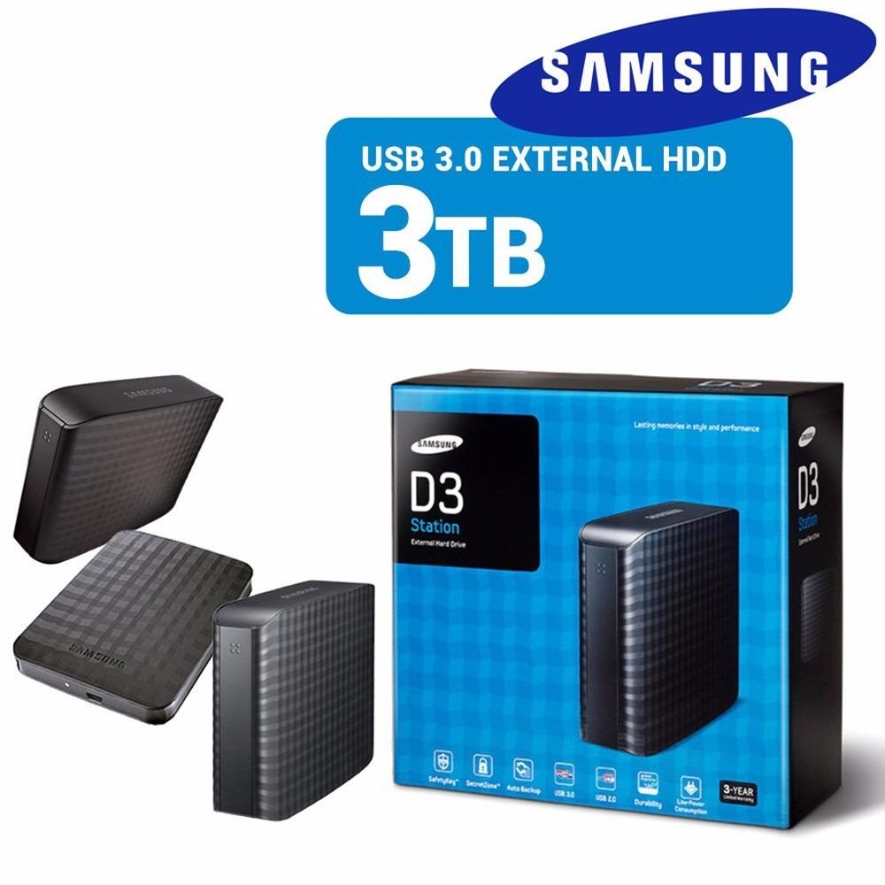 Hd Externo Samsung 3tb D3 Station Usb 3 0 Hx D301tdb G