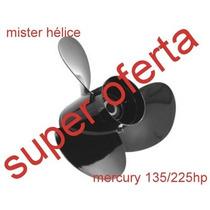 135 / 225 Hp 13.3/4 X 21 Hélice Motor Popa Mercury Sorabo