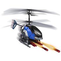 Helicóptero Heli Combat R/c 3 Em 1 Dtc Silverlit Azul
