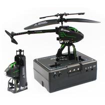 Super Mini Helicóptero Controle Remoto Dobrável 2.5 Ch