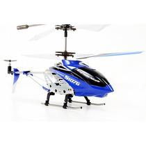 Mini Helicóptero Syma S107g Giro 3 Canais Cont. Remoto