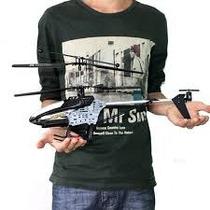 Helicóptero 45 Cm 2.4ghz 4 Canais Com Giroscópio E Led