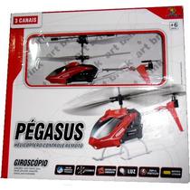 Helicóptero 3 Canais Para Voar Em Casa Fica Parado No Ar