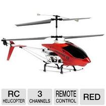 Helicóptero Odyssey 340r 3ch Vermelho - Infinito