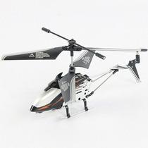 Mini Helicóptero 3,5 Canais Com Controle Remoto - Preto