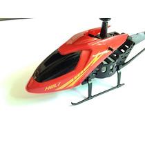 Helicóptero De Controle Remoto 2,5 Canal Ir Vermelho/amarelo