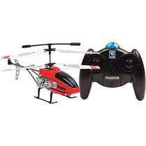 Helicóptero Phantom Rádio Controle 3 Canais H18 Verm Candide