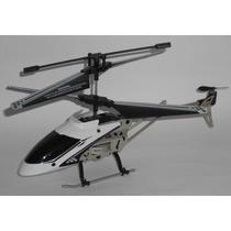 Mini Helicóptero Aeroquest Rádio Controle 3,5 Canais Branco