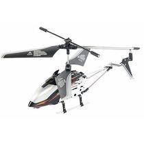 Helicóptero 3,5 Canais Com Controle Remoto Preto