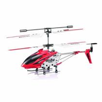 Mini Helicoptero 3,5ch Syma Com Gyro Pra Voar Dentro De Casa