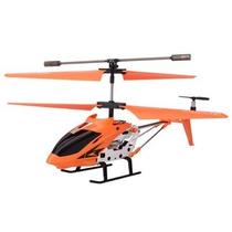 Mini Helicóptero De Controle Remoto 3,5 Canais