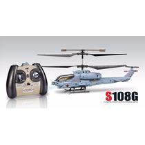 Helicóptero Eletrico Syma S108g / 3canais Pronta Entrega