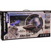 Helicoptero Sky Eye Silverlit Veja Tudo Ao Vivo Câmera