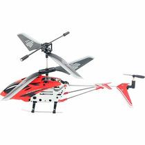 Mini Helicóptero 3,5 Canais + Controle Remoto Vermelho Brink