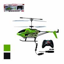 Helicóptero 27 Cm Fenix 3 Canais Art Brink Com Giroscópio Fg