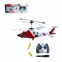 Helicoptero Falcão Controle Remoto 3 Canais Com Giro