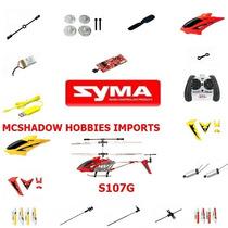 Motor A + B Syma 107 / Syma 107 G