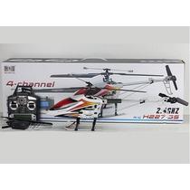 Helicóptero De Controle 75cm H227-55 Rc Heli 4channel