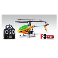 Mini Helicóptero Syma F3 4 Canais Com Gyro Laranja