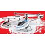 Mini Helicóptero V911 4 Canais Com Gyro E Controle 2,4ghz