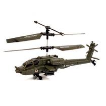 Mini Helicóptero Apache De Controle Remoto (12x Sem Juros)