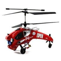 Helicóptero Controlado Com Câmera (brinquedos) 4 Channel Esp
