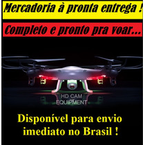 Drone Quadricóptero Syma X5c Espião Câmera Hd Helicóptero