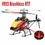 Helicóptero V913 Brushless Version 4-ch 2.pronta Entrega